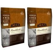 2 x 11.4kg Acana Regionals Ranchlands Dry Dog Food Multibuy