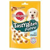 8 x Pedigree Puppy Tasty Bites Chewy Cubes Chicken 125g