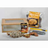 Small Royal Python/Ball Python Starter Kit Monkfield Vivarium Oak (18 Inch)