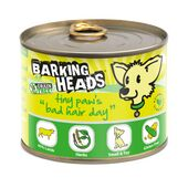 6 x 200g Barking Heads Tiny Paws Bad Hair Day Wet Dog Food