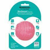 Rosewood Biosmart Puppy Ball Pink