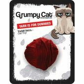 Grumpy Cat Cat Toy Yarn Ball For Dummies 5cm