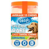 36 x HiLife Special Care Daily Dental Chews (3 jars)