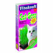 6 x Vitakraft Cat Grass 120g