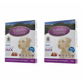 20 x Natures Harvest Adult Duck 395g