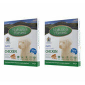 20 x 395g Natures Harvest Puppy Chicken
