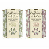 6 x 400g Chicken Quail & 6 x 400g Venison Duck - Cuffleberry & Co. Wet Dog Food