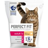 3 x Perfect Fit Cat Complete Adult Chicken 750g