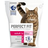 6 x Perfect Fit Cat Complete Adult Salmon 190g