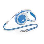 Flexi New Comfort Retractable Cord Lead Blue