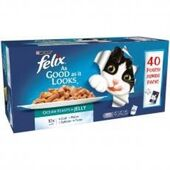 Felix Pouch Fish in Jelly 40x100g