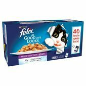 Felix As Good As It Looks Pouch Mixed In Jelly 40x100g