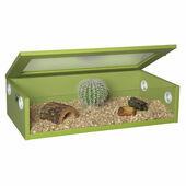 Monkfield Terrainium Reptile Vivarium - 30 Inch Green