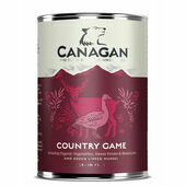 6 x 400g Canagan Country Game Wet Dog Food