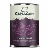 6 x 400g Canagan Senior Feast Chicken and Turkey Wet Dog Food