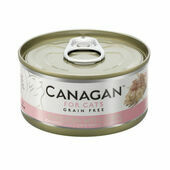 12 x 75g Canagan Chicken With Ham Grain-Free Cat Food