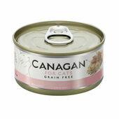 12 x 75g Canagan Chicken With Ham Grain-Free Cat Food