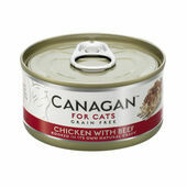 12 x 75g Canagan Chicken With Beef Grain-Free Cat Food
