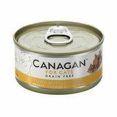 12 x 75g Canagan Tuna with Chicken Grain-Free Cat Food