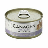 12 x 75g Canagan Chicken with Duck Grain-Free Cat Food