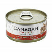 12 x 75g Canagan Ocean Tuna with Crab Grain-Free Cat Food