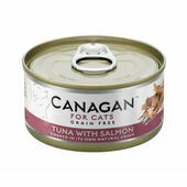 12 x 75g Canagan Ocean Tuna with Salmon Grain-Free Cat Food