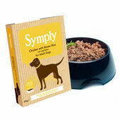 7 x 395g Symply Adult Chicken, Brown Rice & Vegetable Wet Dog Food