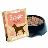 28 x 395g Symply Adult Salmon & Potato Wet Dog Food