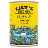 6 x 400g Lily's Kitchen Chicken & Turkey Casserole Wet Dog Food