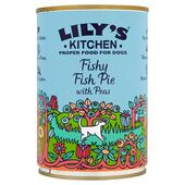 6 x 400g Lily's Kitchen Fishy Fish Pie With Peas Wet Dog Food