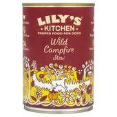 6 x 400g Lily's Kitchen Wild Campfire Stew Wet Dog Food