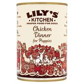 6 x 400g Lily's Kitchen Chicken Dinner for Puppies Wet Dog Food