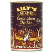 6 x 400g Lily's Kitchen Coronation Chicken Wet Dog Food
