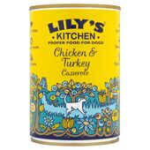 6 x 200g Lily's Kitchen Homestyle Chicken & Turkey Casserole Wet Dog Food