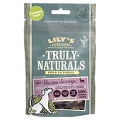 12 x 60g Lily's Kitchen Truly Naturals Mini Venison Sausages Dog Treats