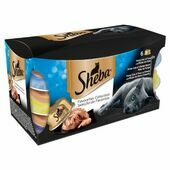 5 x Sheba Tray Favourites Collection In Gravy 6x80g