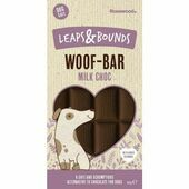 18 x 100g Rosewood Leaps & Bounds Woof Bar Milk Chocolate