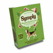 Symply Adult Lamb, Brown Rice & Veg Wet Dog Food