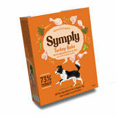 Symply Adult Turkey, Brown Rice & Veg Wet Dog Food
