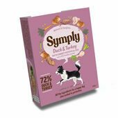 Symply Adult Duck and Turkey with Sweet Potato Wet Dog Food