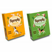 28 x 395g Symply Adult Turkey and Lamb Mixed Flavours