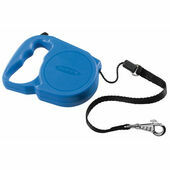 Ferplast Flippy Regular Blue Retractable Cord Lead