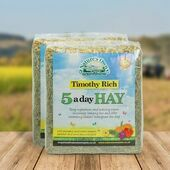 Nature's Own 5 A Day Timothy Rich Hay Bedding 1kg