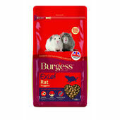 4 x Burgess Excel Rat Nuggets 1.5kg