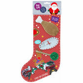 James & Steel Super Chew and Play Dog Christmas Stocking