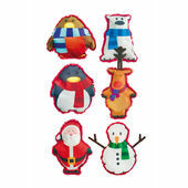 James & Steel Assorted Christmas Mix Dog Toy