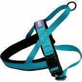 Dog & Co Nylon Norwegian Harness Reflective Aqua XX large