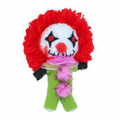 James & Steel Augustus The Clown String Doll Cat Toy