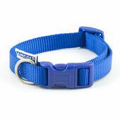 Ancol Heritage Nylon Adjustable Dog Collar Blue