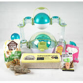 The Pet Express Habitrail OVO Habitat Dwarf Hamster Starter Kit
